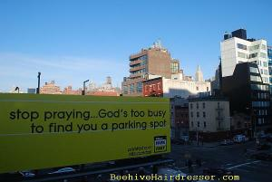 Does prayer work for parking?